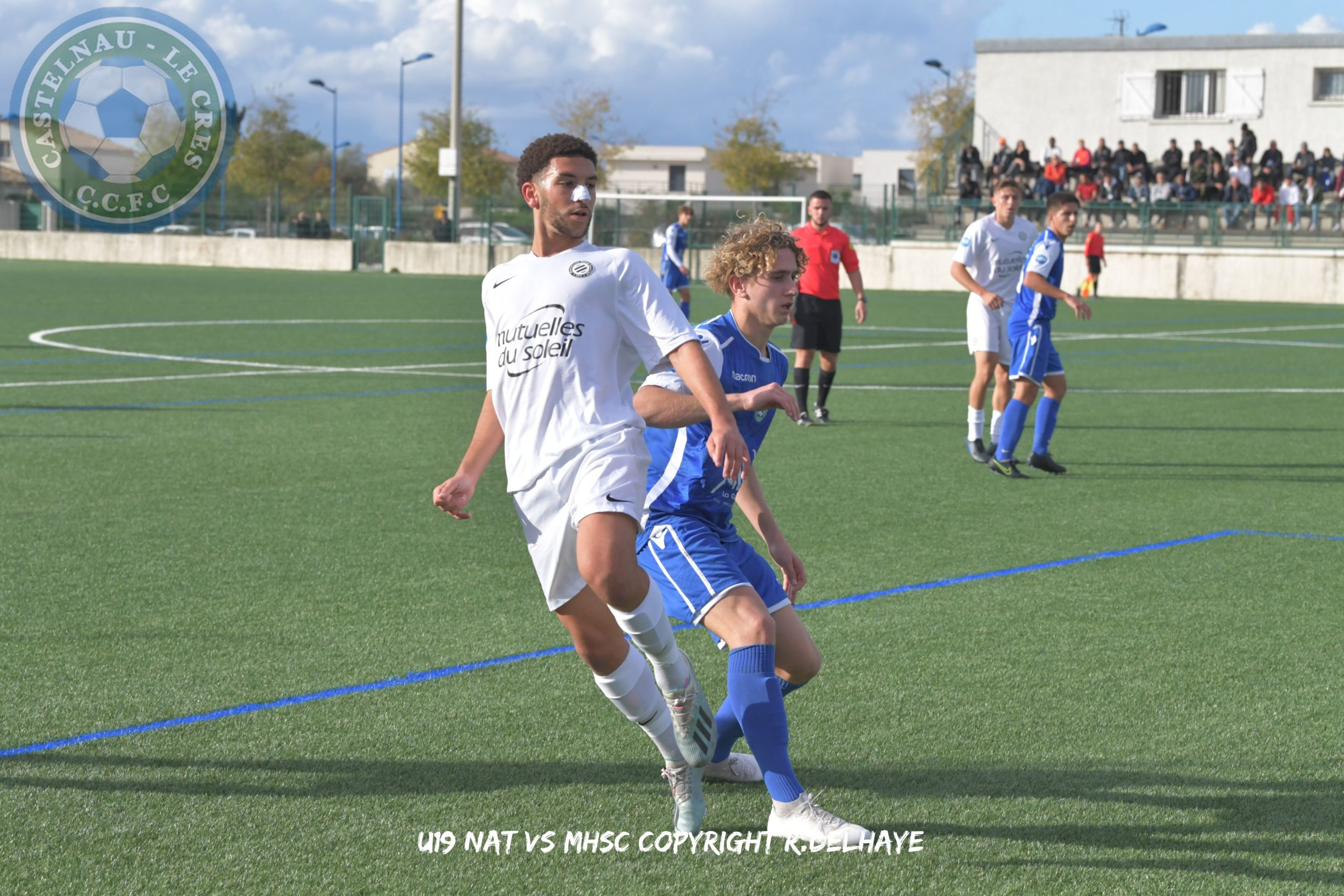 Les U19 s'inclinent face au Leader