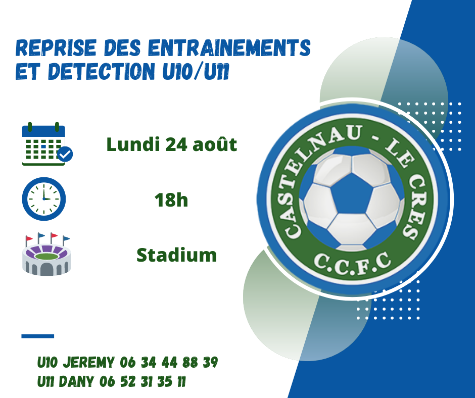 Reprise + détection U10:U11
