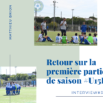 Interview du coach Matthieu Brion